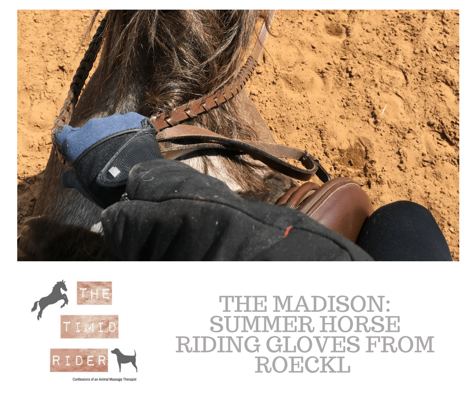 The Madison: Summer Horse Riding Gloves from Roeckl You Need in Your Tack Box